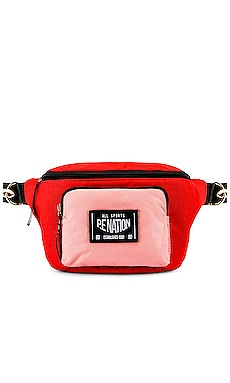 Sonic Boom Bumbag P.E Nation $90