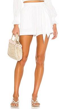 Belted Short Peony Swimwear $135