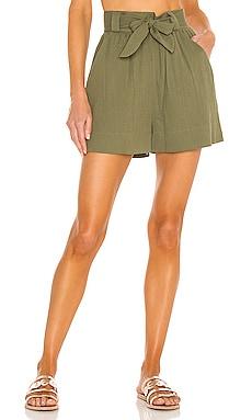 Belted Short Peony Swimwear $107 Sustainable