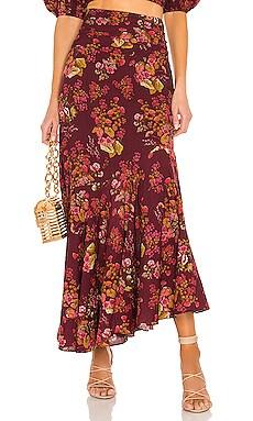 Ruched Skirt Peony Swimwear $305
