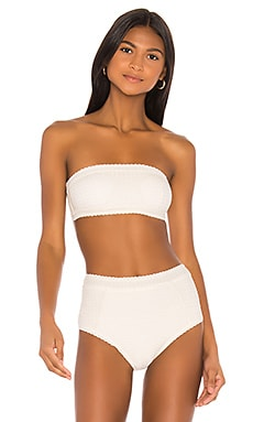 Bandeau Top Peony Swimwear $90