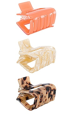 Roxanne Hair Clip Set petit moments $35 BEST SELLER