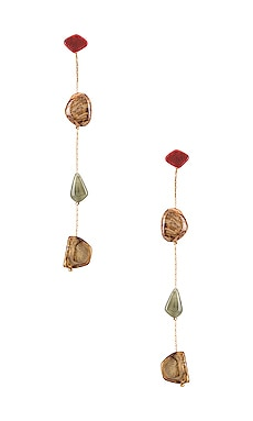 Stone Duster Earrings petit moments $30