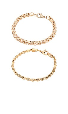 Bordeaux & Angie Bracelet Set petit moments $50 NEW