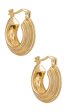 Bita Mini Hoop Earring petit moments $20