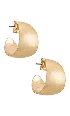 Melrose Hoop Earring petit moments $28