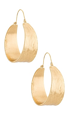 Terrain Hoop Earring petit moments $20