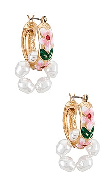 Baroque Earring petit moments $30