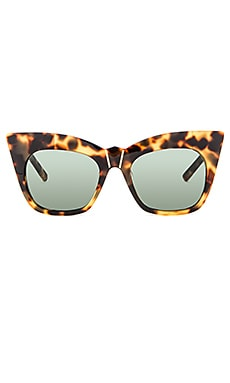 Pared Eyewear Kohl & Kaftans Sunglasses in Dark Tortoise & Gold