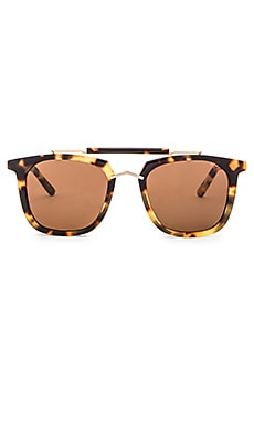 Pared Eyewear Camels & Caravans Sunglasses in Dark Tortoise & Gold