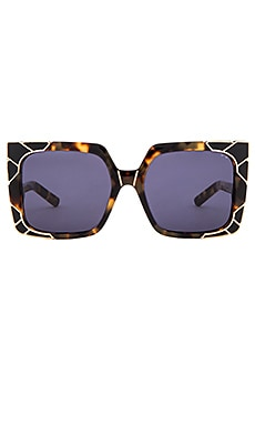 x Rocky Barnes Sun & Shade Sunglasses in Dark Tortoise & Gold