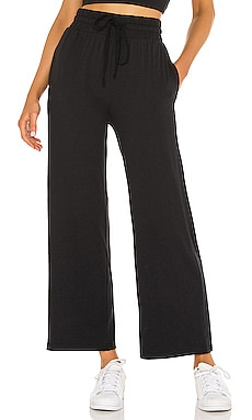 High Rise Crop Lounge Pant Parentezi $128 NEW