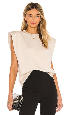 Scuba Muscle Shoulder Pad Top Parentezi $102