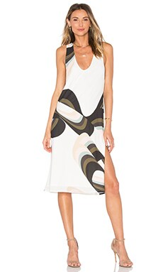 PFEIFFER Otis Midi Dress in Otis Print
