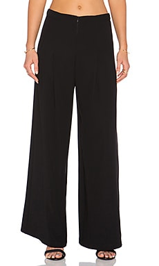 PFEIFFER Martine Wide Leg Pant in Noir