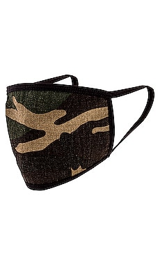 Woodland Camo Cotton Face Mask Profound $9 (FINAL SALE)