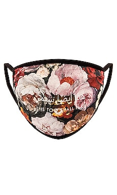 Floral Painting Cotton Face Mask Profound $25 (FINAL SALE)