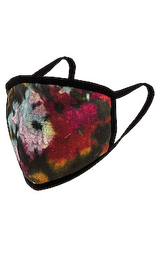 Black Ink Splatter Tie Dye Face Mask Profound $25 (FINAL SALE)