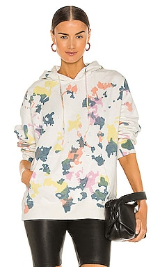 Mixed Dye Paint Splatter Hoodie Profound $68
