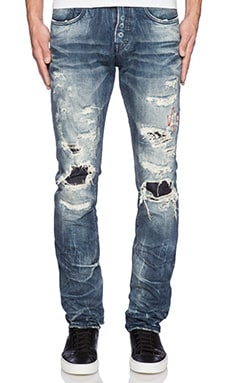 PRPS Goods & Co. Altered Images Demon Fit Jean in Blue