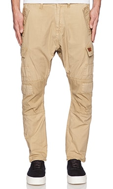 PRPS Goods & Co. Medium Daytona Fit Pant in Khaki