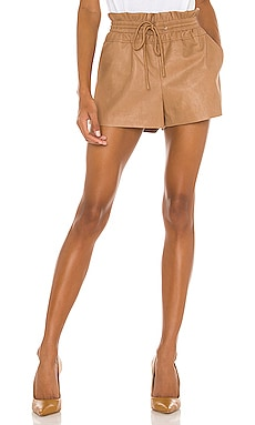 Emma Vegan Leather Short n:philanthropy $138