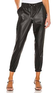 БРЮКИ-ДЖОГЕРЫ SCARLETT LEATHER n:philanthropy $248