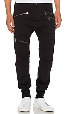 Pierre Balmain Sweatpants in Black Denim