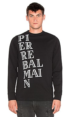 Pierre Balmain T Shirt in Black
