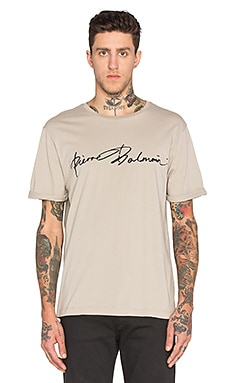 Pierre Balmain T Shirt in Kaki
