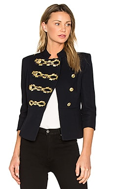 Military Jacket in Dark Navy