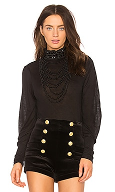 Necklace High Neck Top
