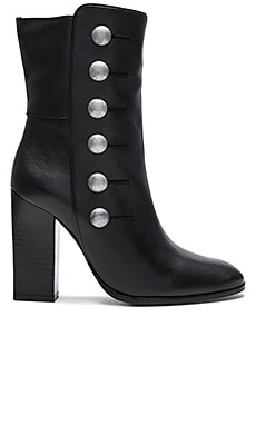 Button Bootie in Black