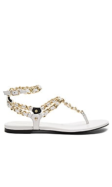 Fara Sandal in Off White