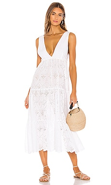 Anne Eyelet Dress PILYQ $144