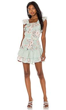 Cate Ruffle Dress PQ $144