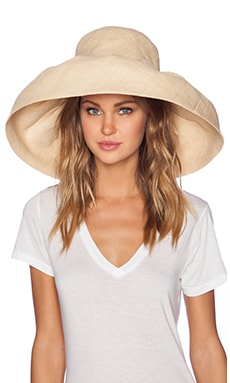 PILYQ Sun Hat in Straw