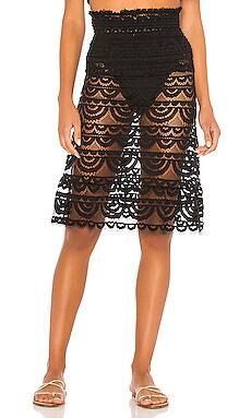 Smocked Tube Skirt PILYQ $144 NEW ARRIVAL