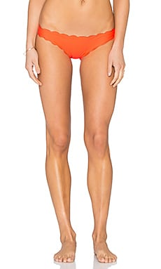 PILYQ Reversible Seamless Wave Teeny Bikini Bottom in Omni