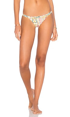 Embroidered Twiggy Teeny Bikini Bottom