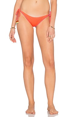 Lettuce Edge Side Tie Bikini Bottom