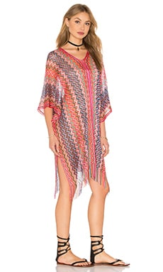 PILYQ Madagascar Poncho in Daiquiri