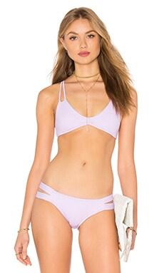 PILYQ Utopia Reversible Bikini Top in Orchid