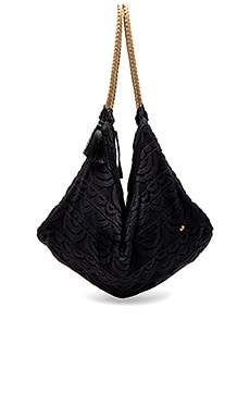 Allison Lace Bag in Midnight Gold