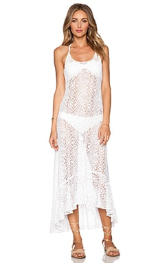PILYQ Harper Dress in White