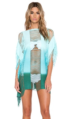 PILYQ Monique Sunset Cover Up in Dreamy Blue