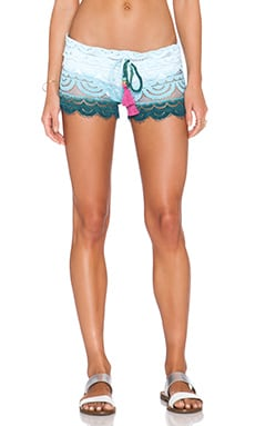 PILYQ Sunset Lexi Short in Dreamy Blue