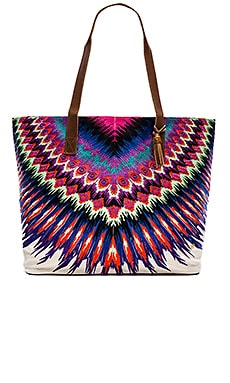 PILYQ Tote Bag in African Rays