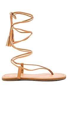 Gladiator Sandal in Nude