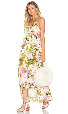 Pink Stitch Resort Maxi Dress in Florabotanica Pink
